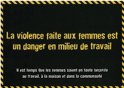 Image du tract.